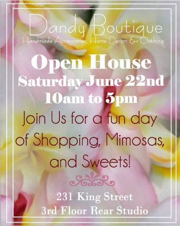 Dandy Boutique open house